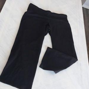 4/$20 XL petite black straight leg yoga pants